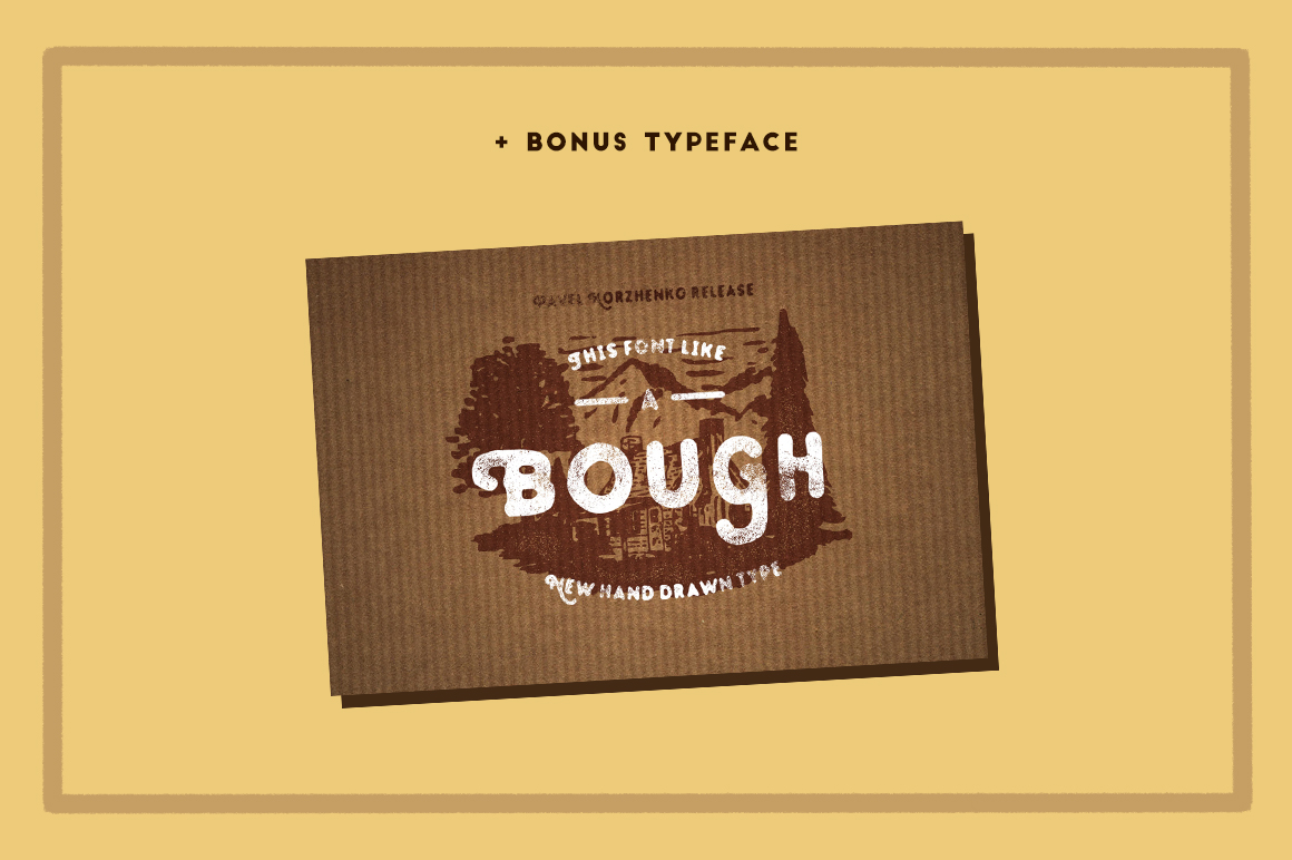 STOUT Typeface example image 5