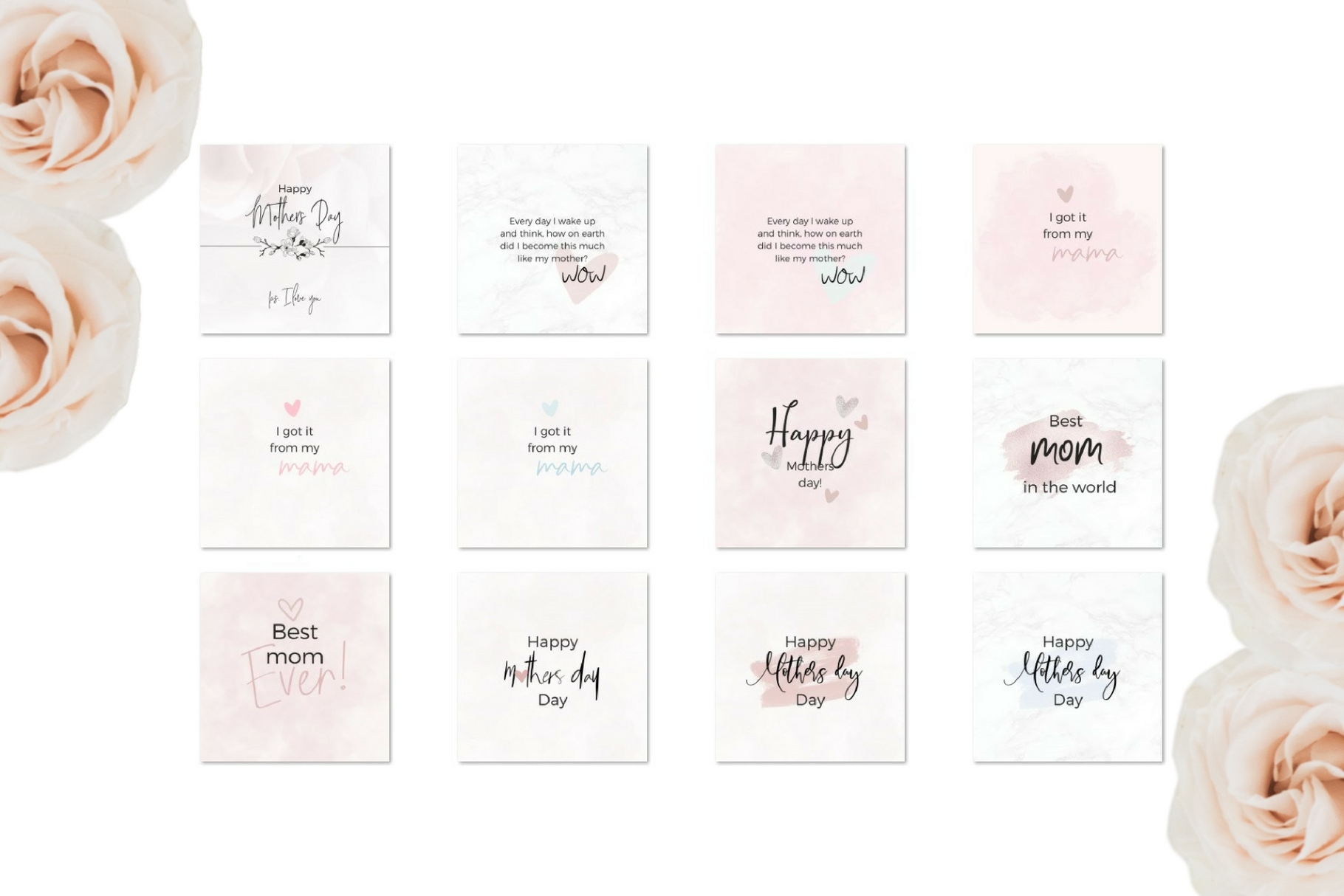 Mother's Day Lettering example image 4