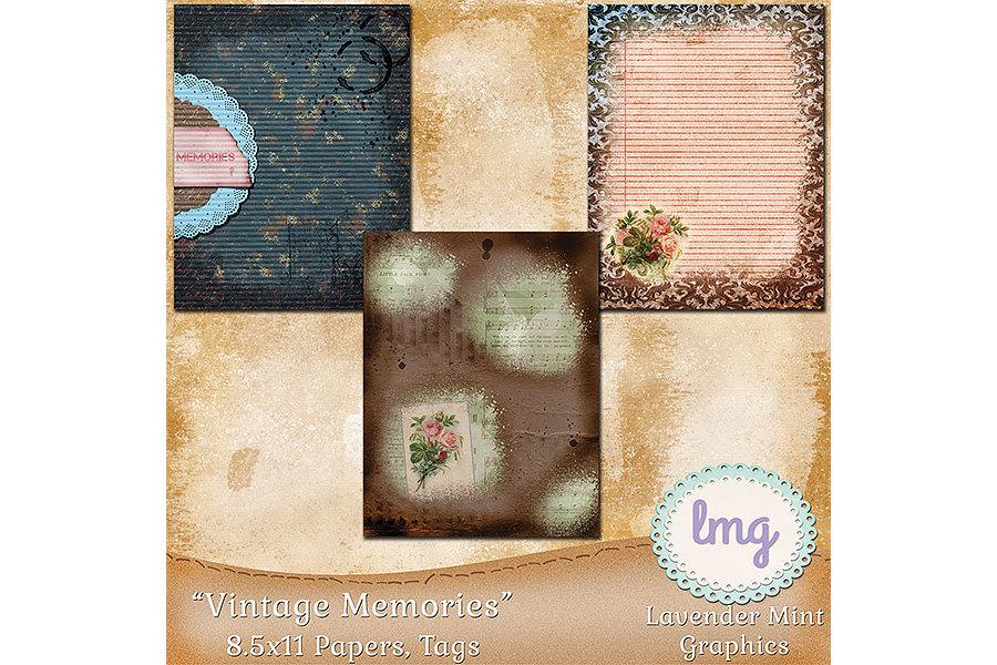 Vintage Memories Journal Kit example image 2