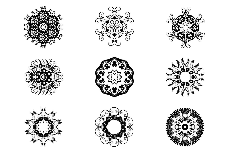 125 Vector Mandala Design example image 6