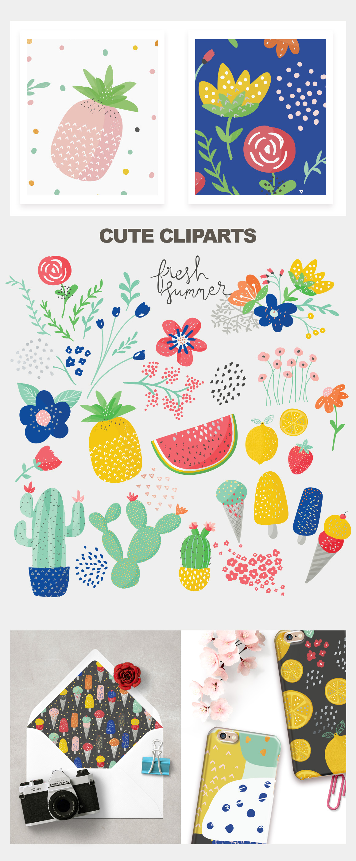 Fresh Summer Patterns example image 2