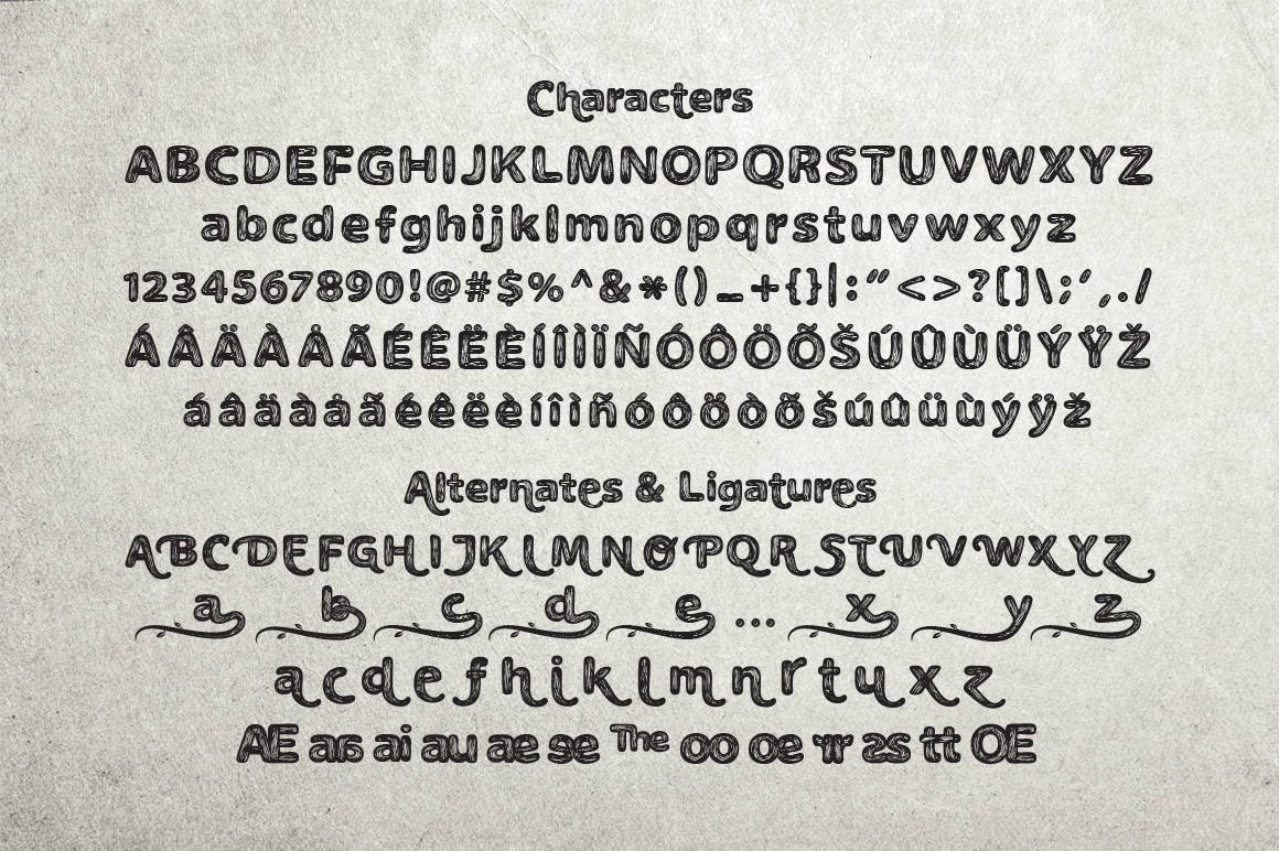 The Naturel Font example image 12