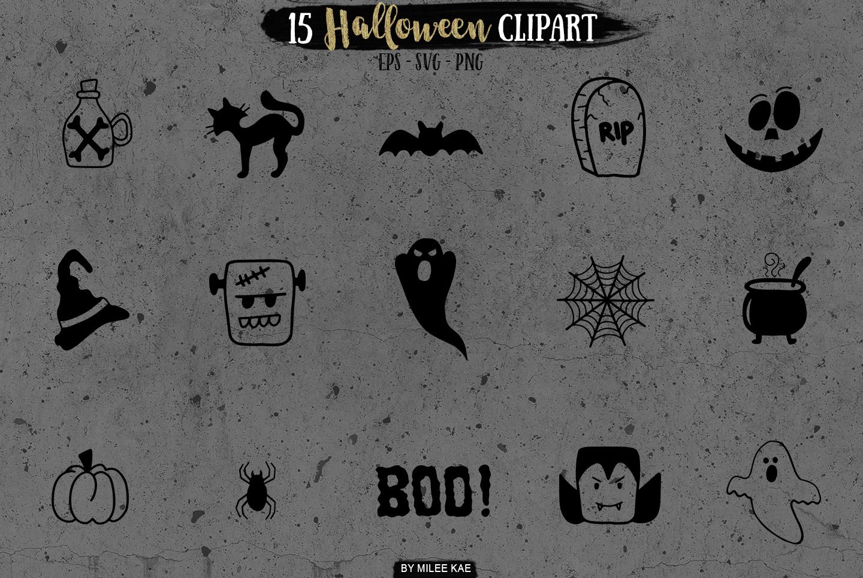 Halloween SVG bundle, PNG & EPS example image 5