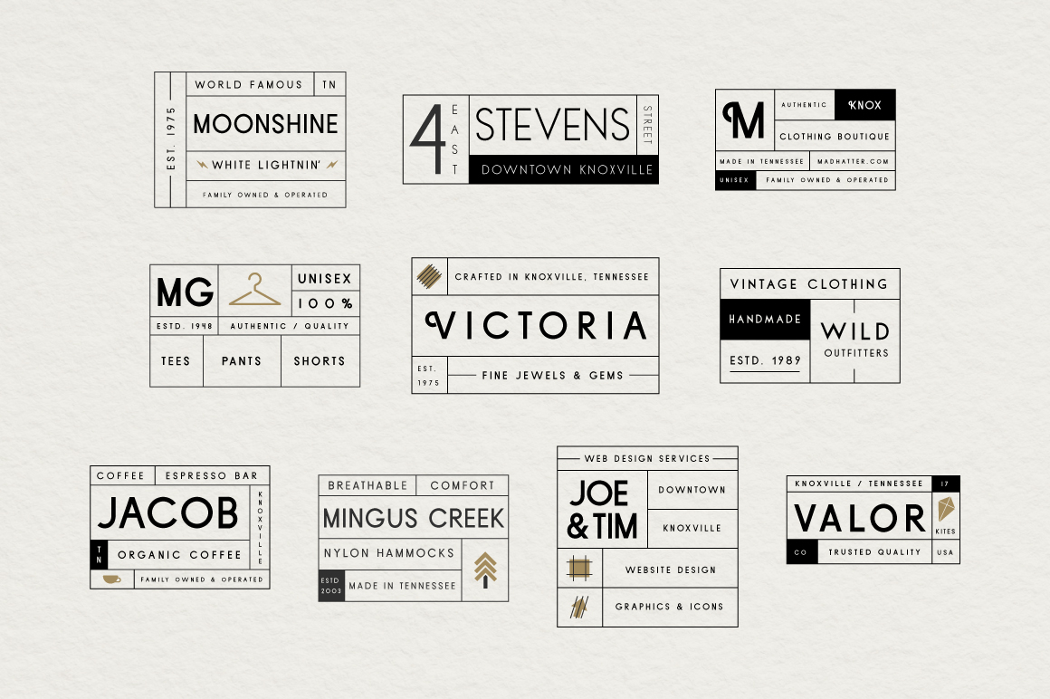 Sans Serif Typeface Collection example image 8