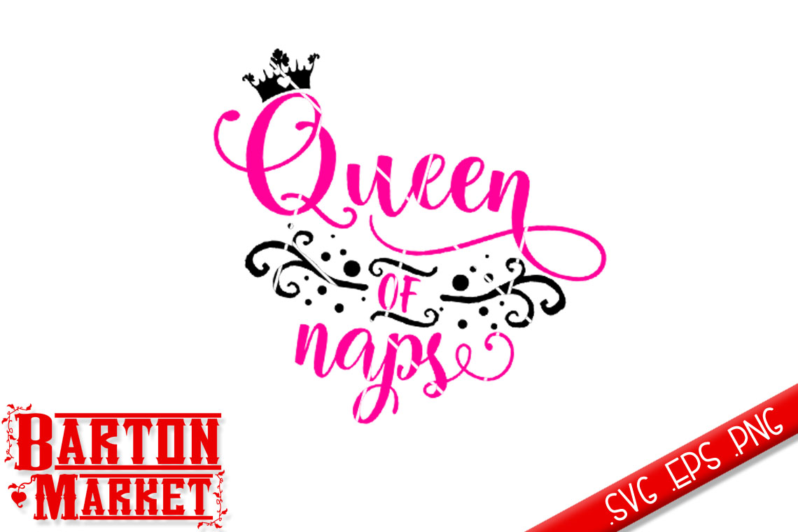 Queen of Naps SVG / EPS / PNG example image 2