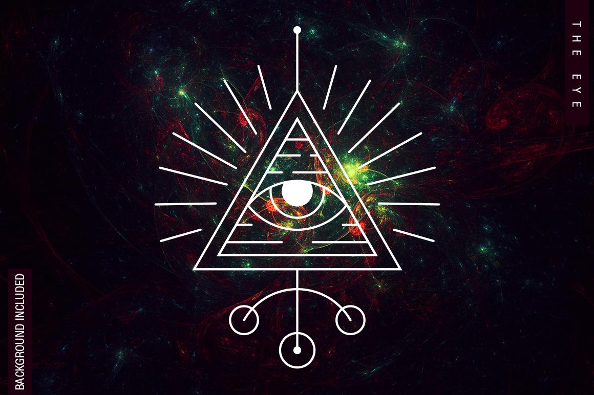 100 Sacred Geometry Symbols  example image 19