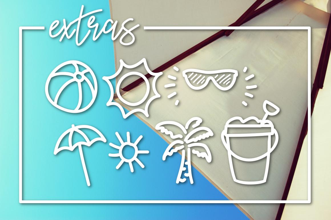Sunny Beach a Handwritten Typeface example image 3