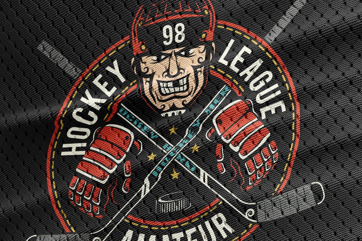 Hockey Dark Bundle example image 4