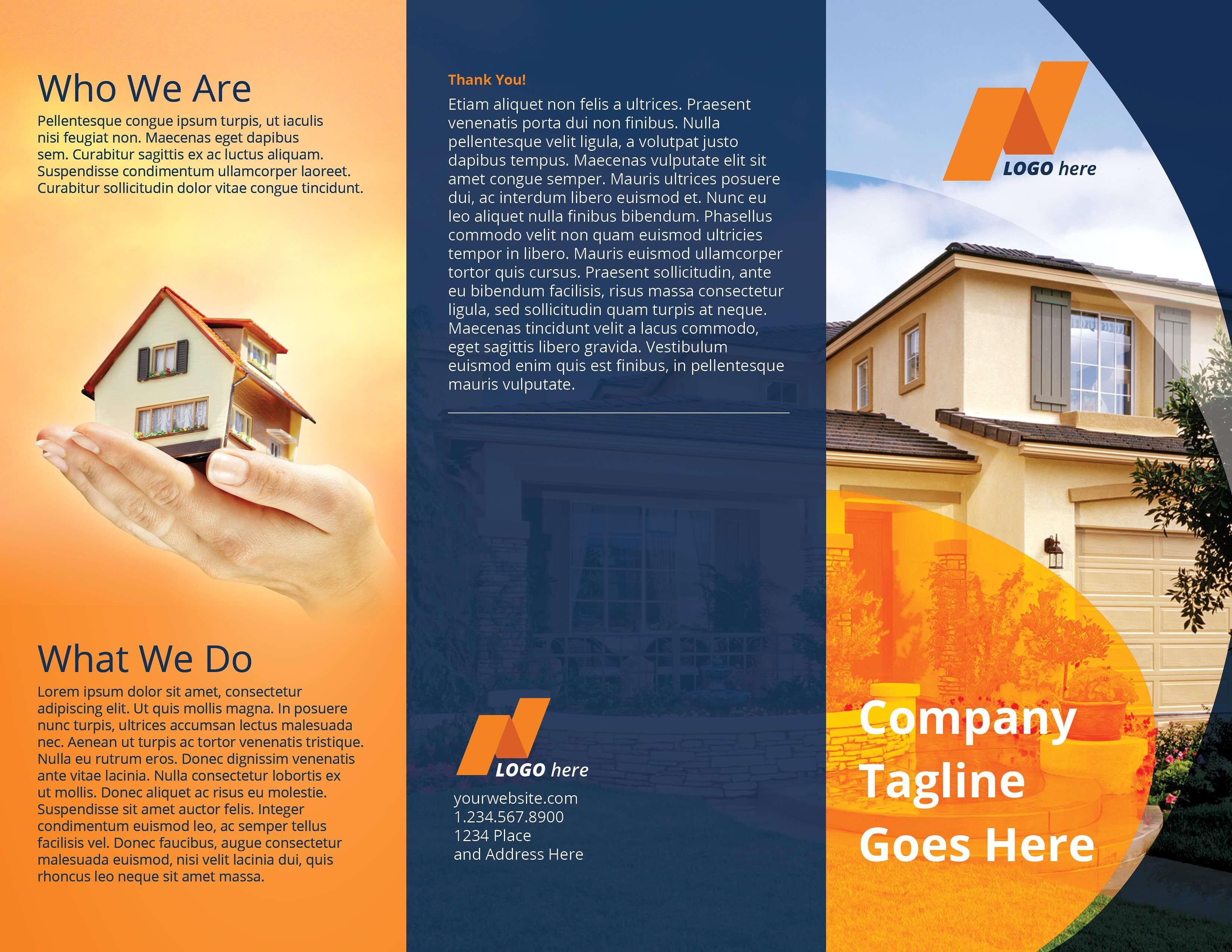 Real Estate Tri Fold Brochure Template Example Image 6