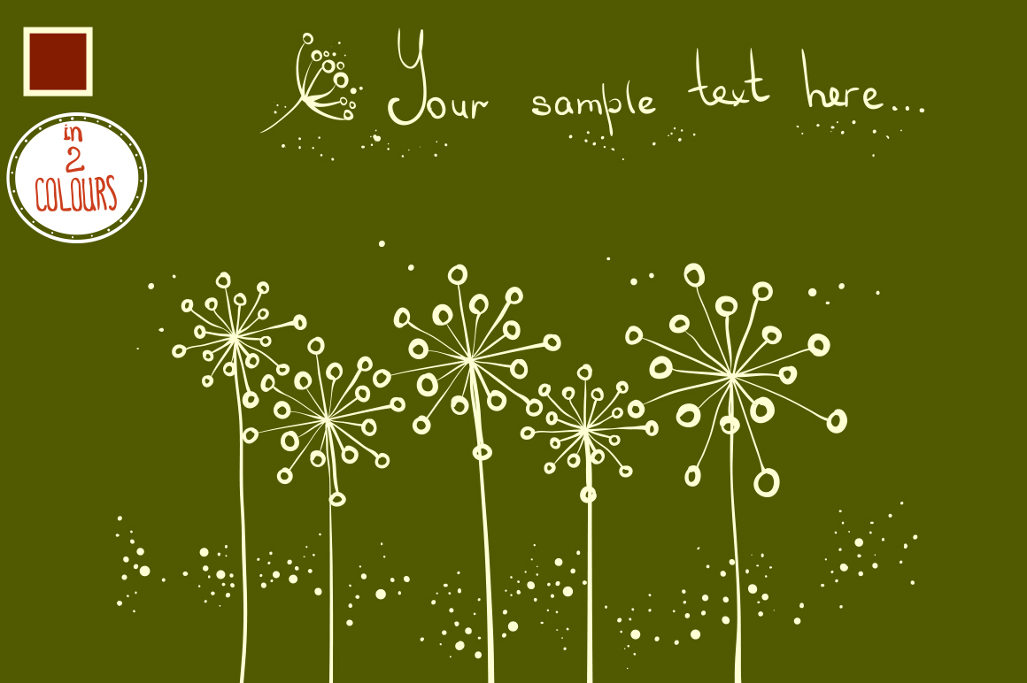 Floral patterns and backgrounds example image 3