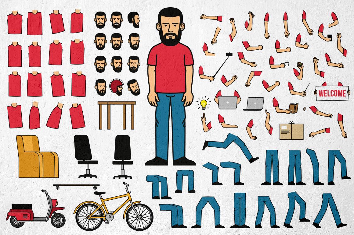 Bearded Man Generator example image 4