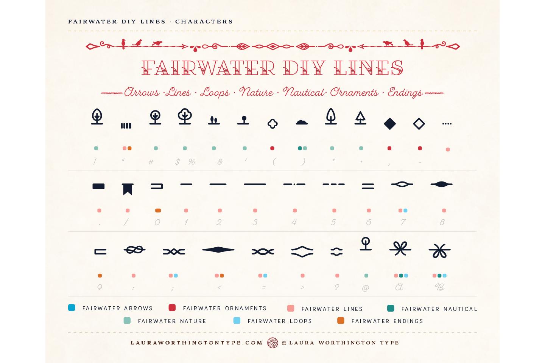 Fairwater DIY Lines example image 6