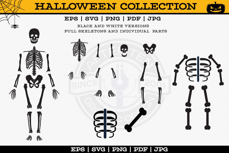 Skeleton Tshirts example image 2