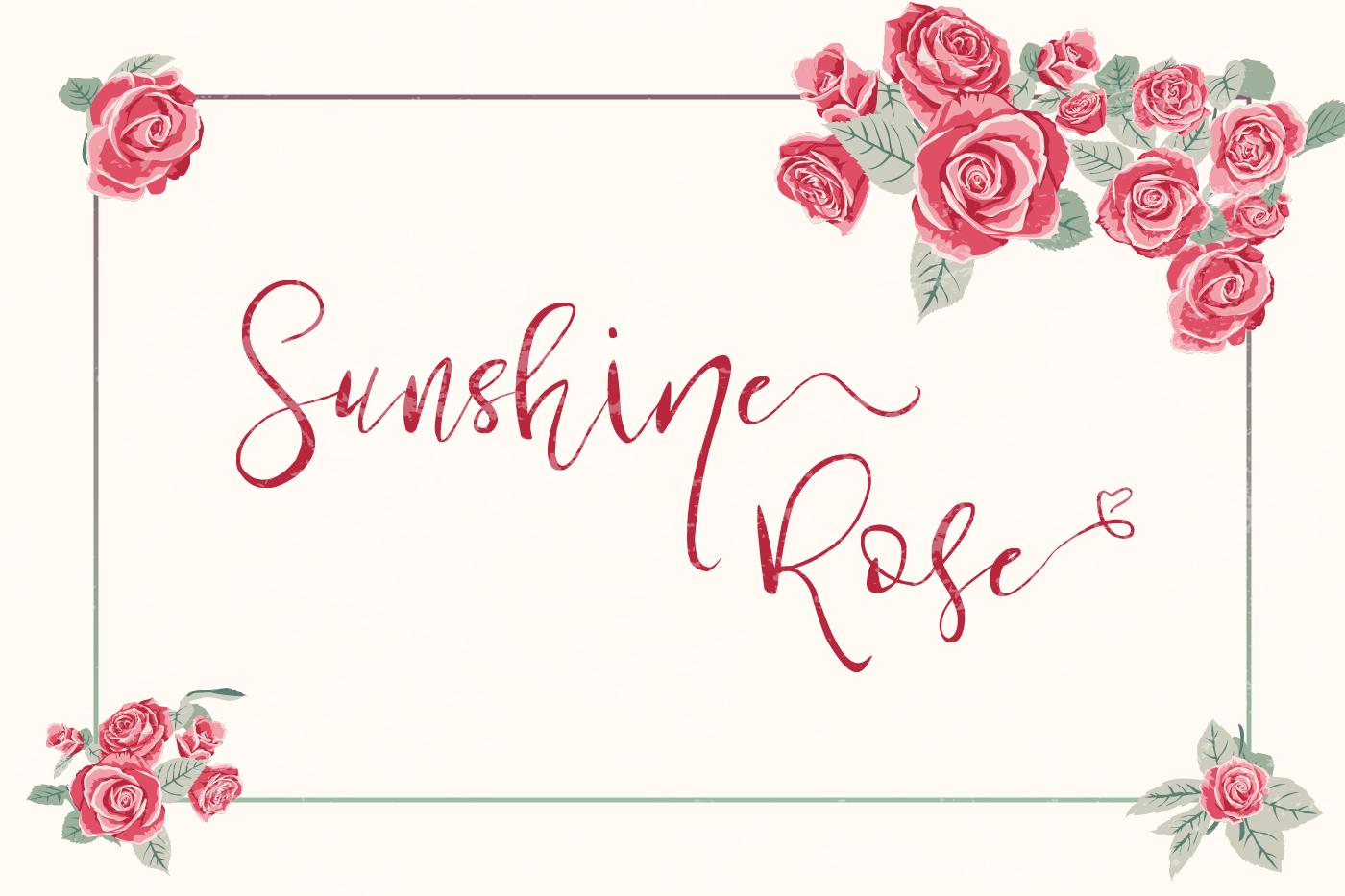 Sunshine Rose example image 1