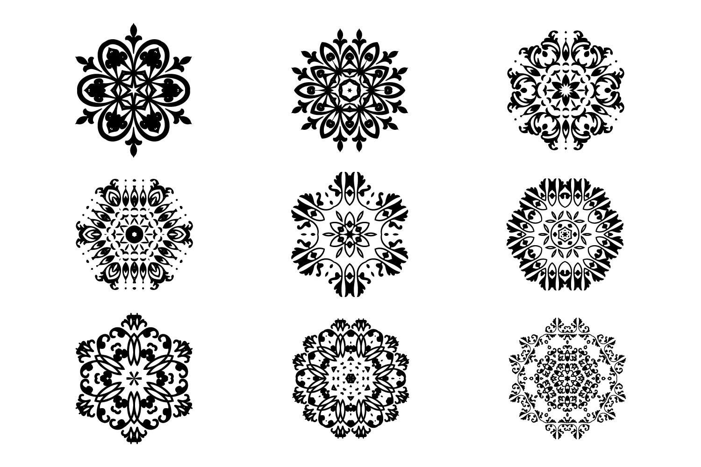 125 Vector Mandala Design example image 7