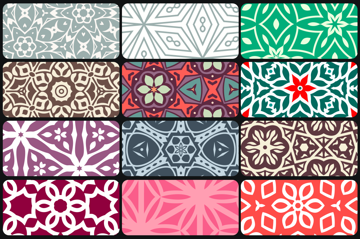 50 Floral Seamless Patterns 80% OFF example image 4
