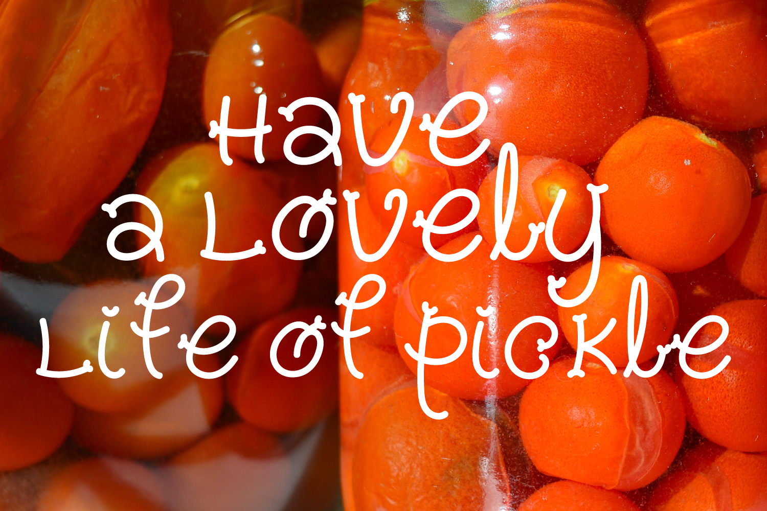 Pickles - Spicy Hand Drawn Font example image 5
