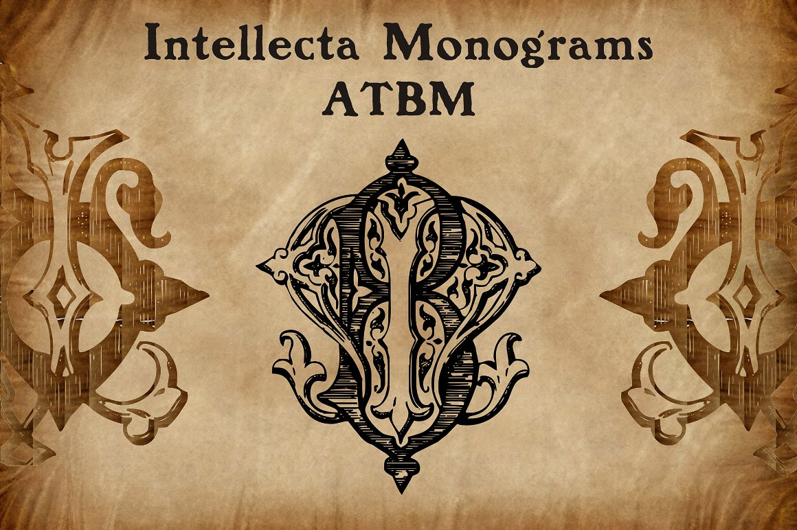 Intellecta Monograms Collection SUPER PACK example image 10