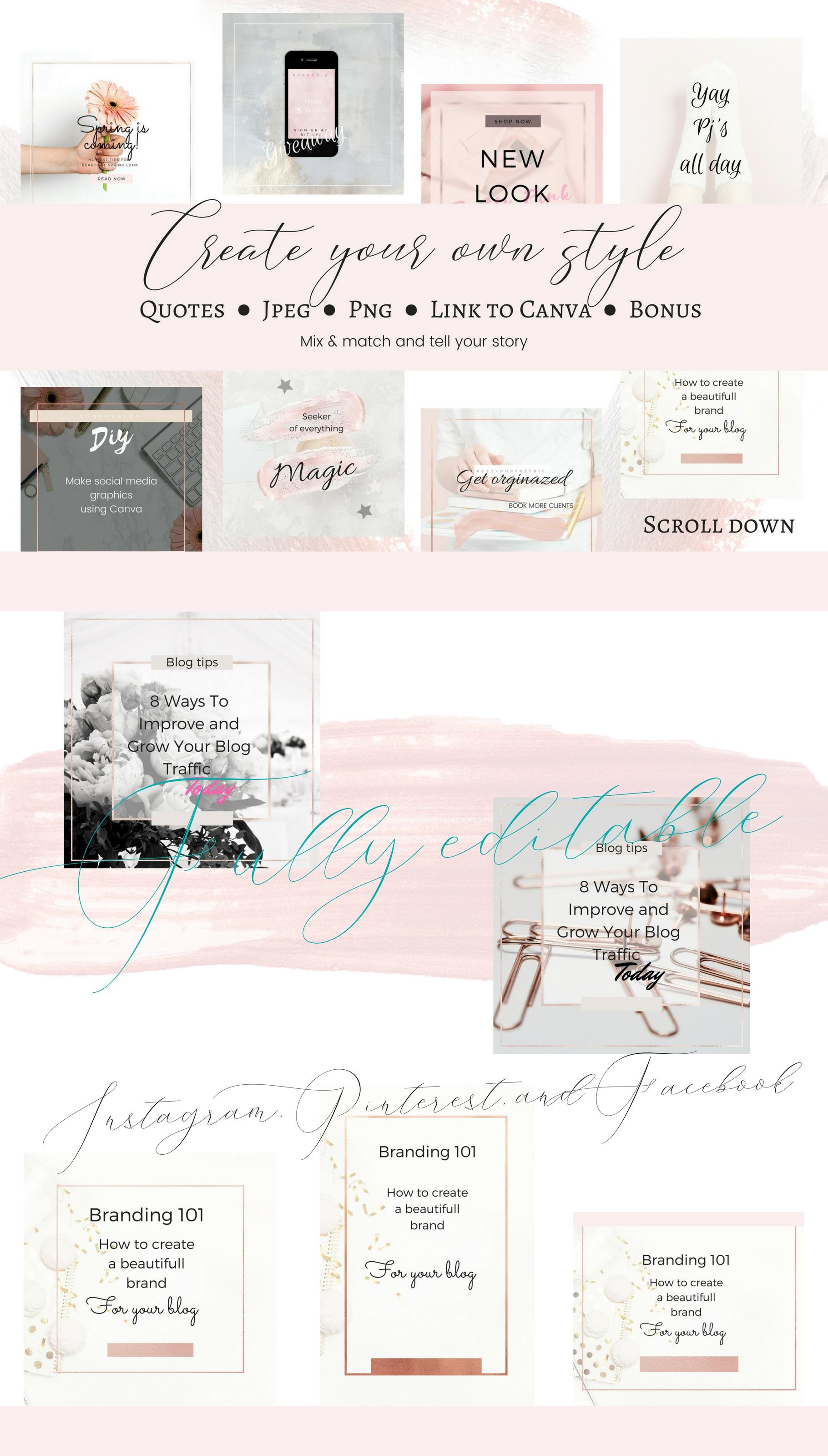CFY - Sweet pink Social media example image 5