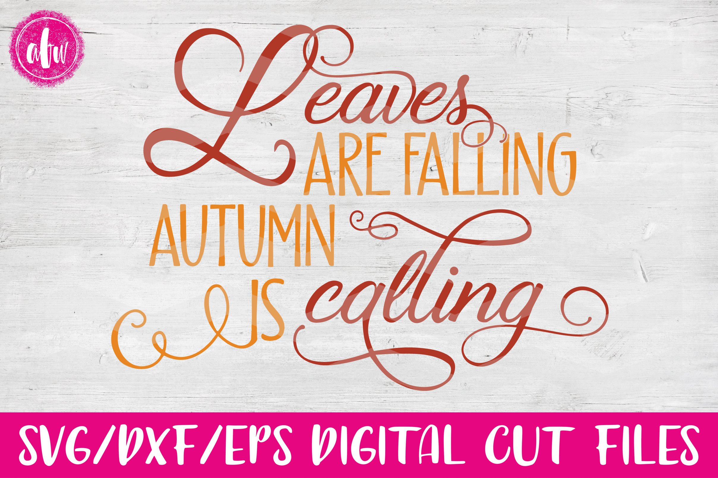 Fall Bundle - SVG, DXF, EPS Cut Files example image 8