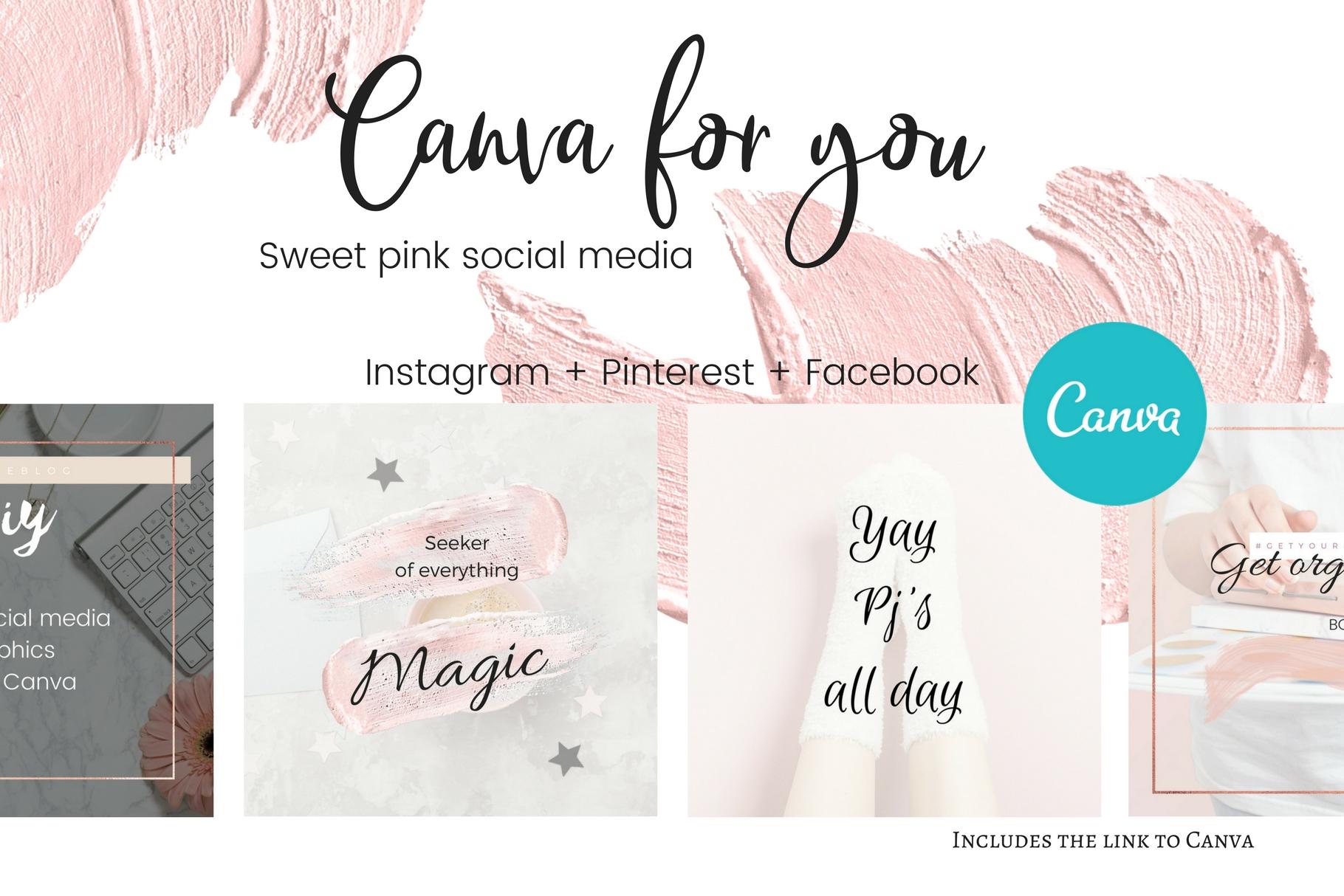 CFY - Sweet pink Social media example image 1