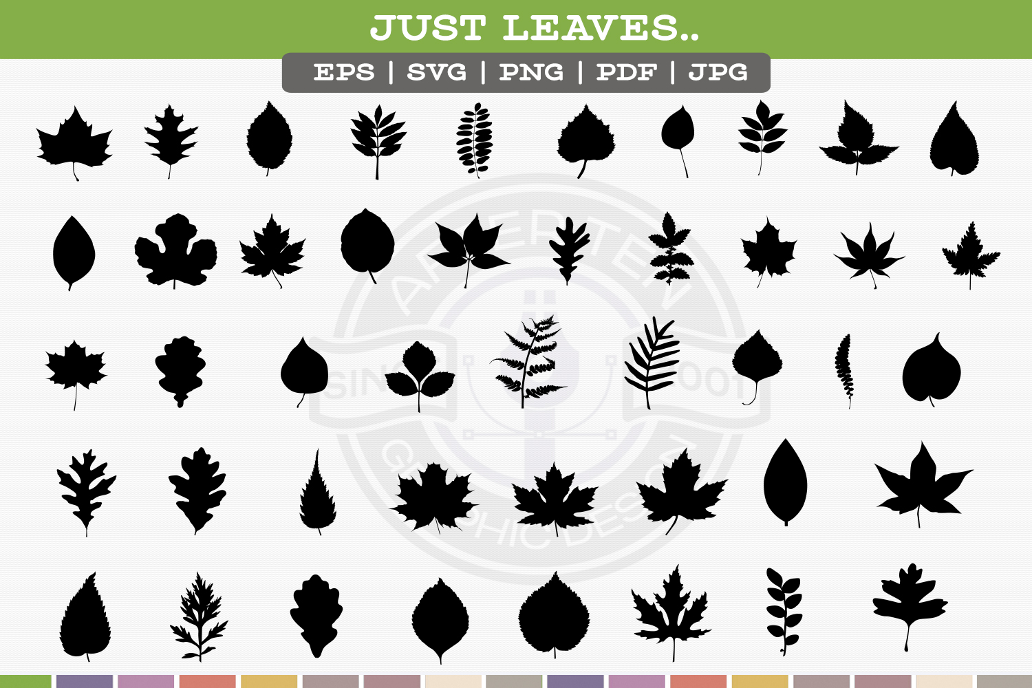 Leaf Silhouettes example image 3