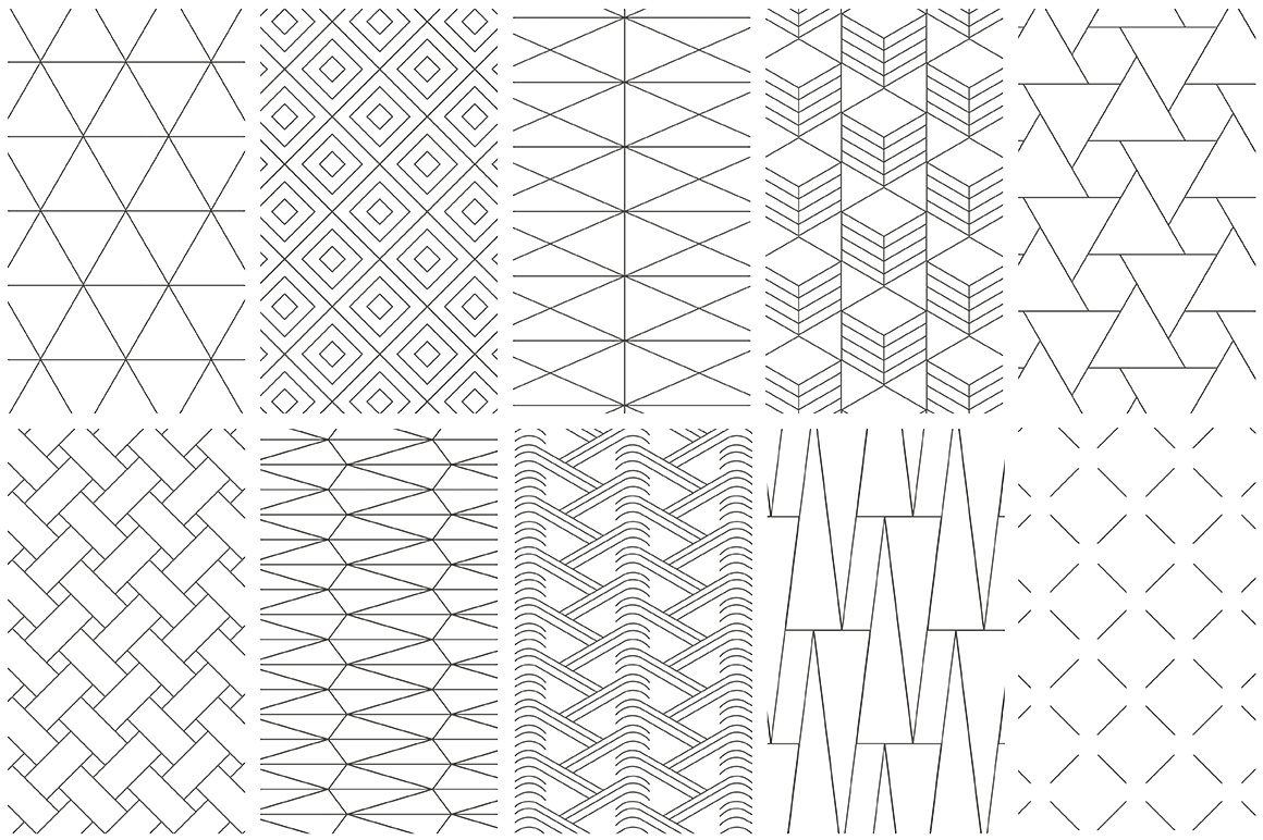 Line Pattern Graphic Design