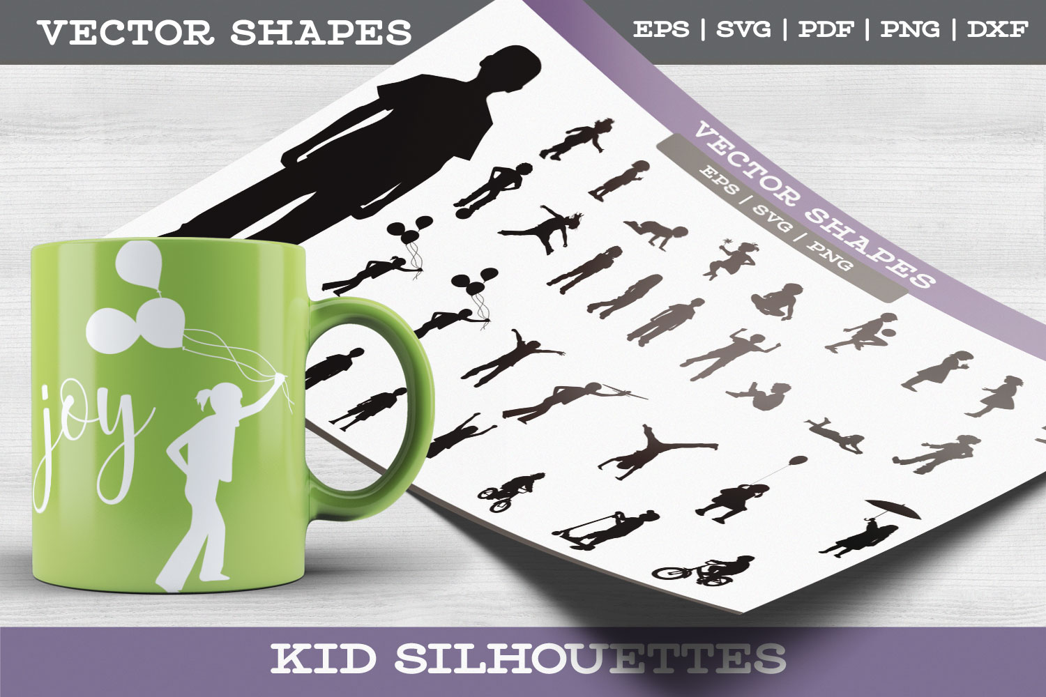 Child Silhouettes example image 1