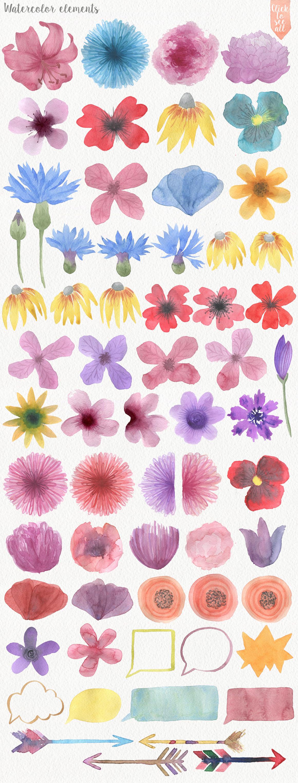 Wild Watercolor DIY example image 2