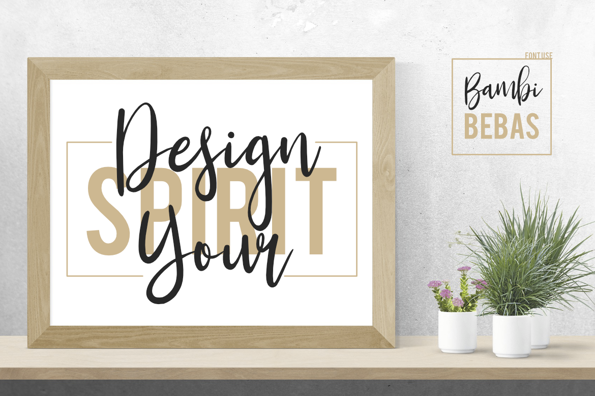Bambi Font + New Extras ! example image 12