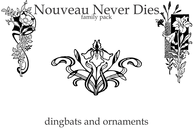 Nouveau Never Dies Family example image 6