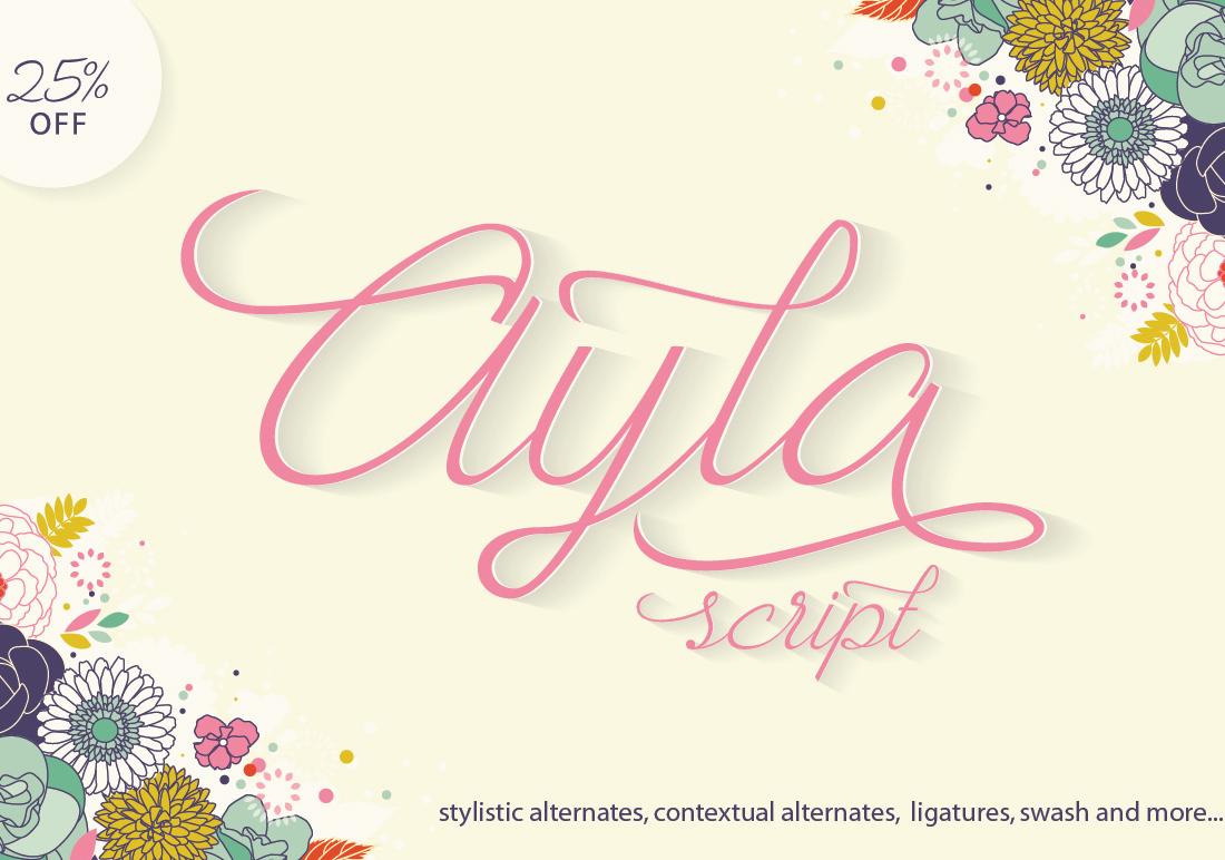 Ayla Script example image 1