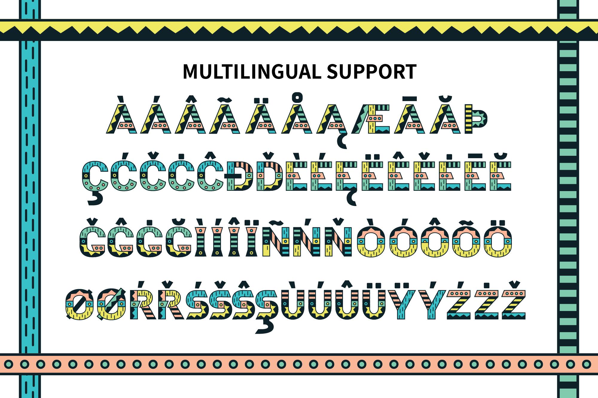 Loki Display Color Font example image 3