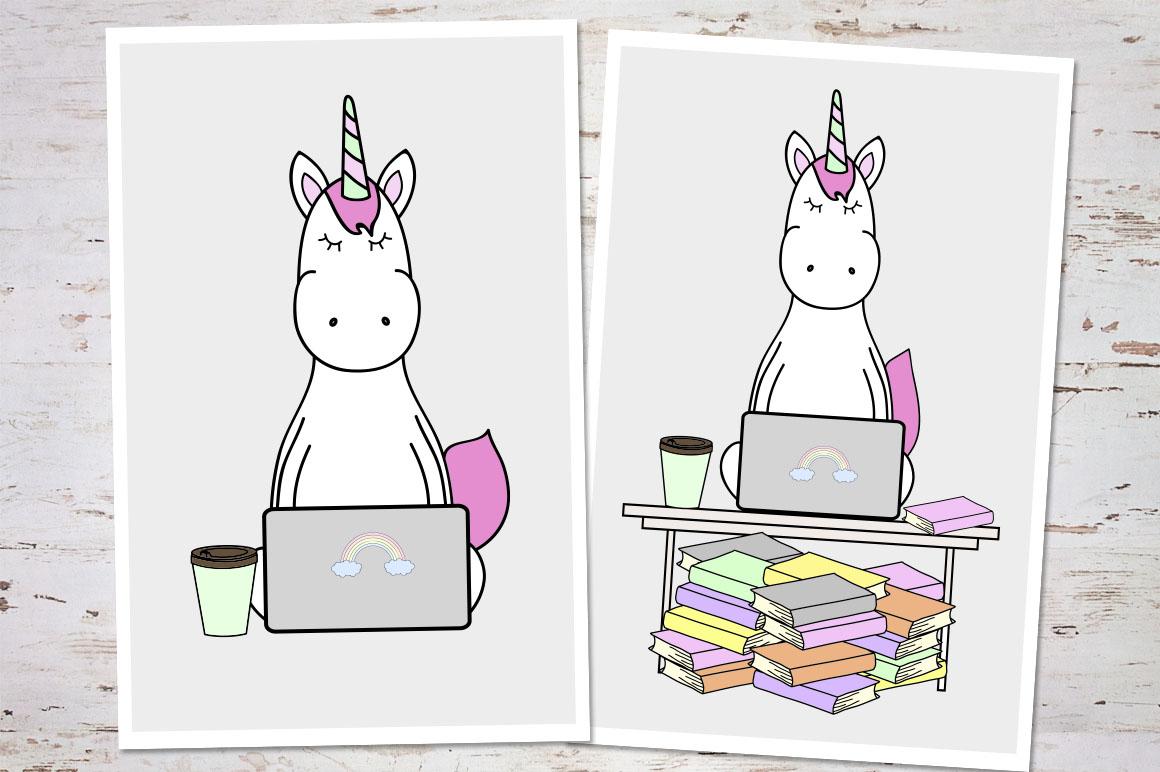 Unicorn's Daily Life example image 7