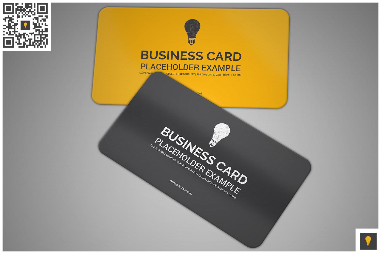 Business card mockup by shocky design design bundles business card mockup example image 3 reheart Images