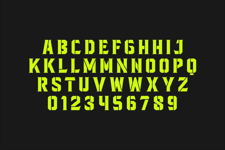 Blacktroops Stencil example image 2