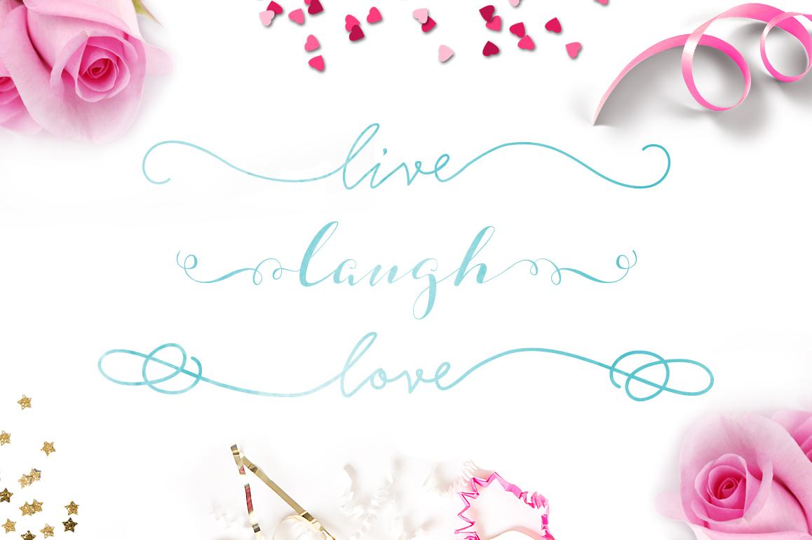 Strangelove Calligraphy Font - wedding font example image 3
