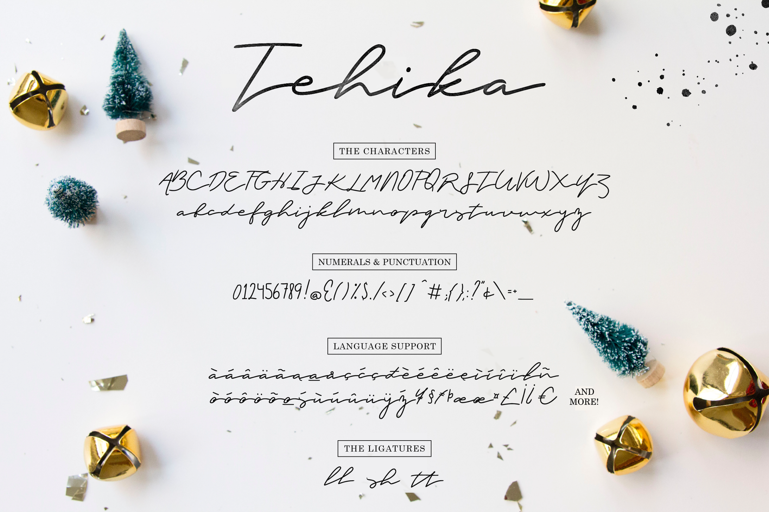 Tehika Script + Bonus example image 6