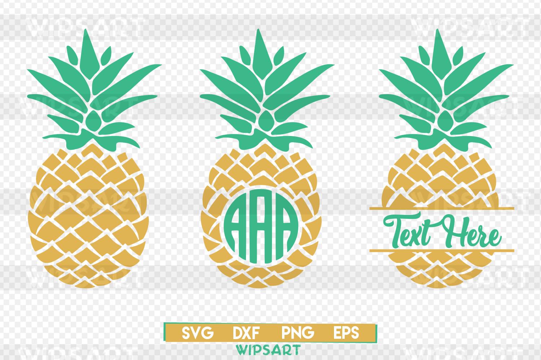 Download Pineapple svg, pineapple monogram svg, | Design Bundles