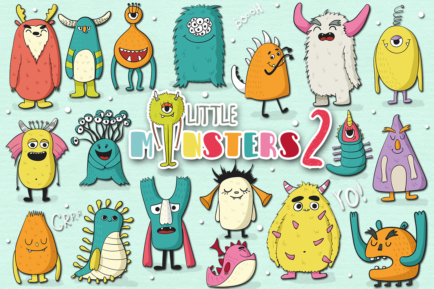 Little Monsters 2 example image 1