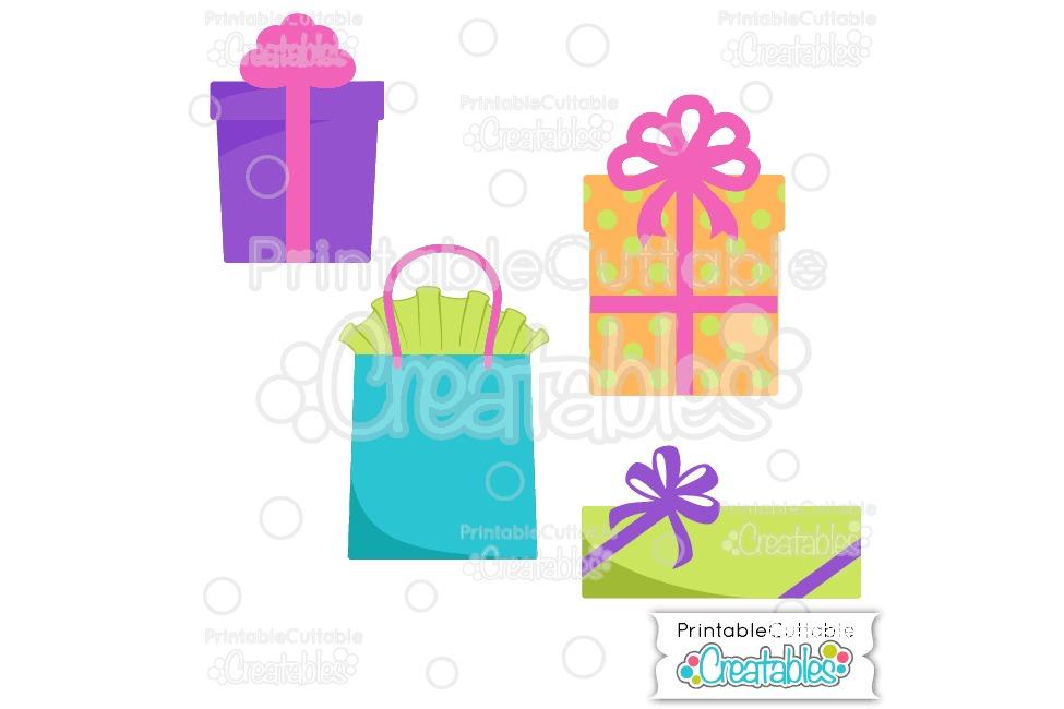 Birthday Presents SVG Cut File & Clipart