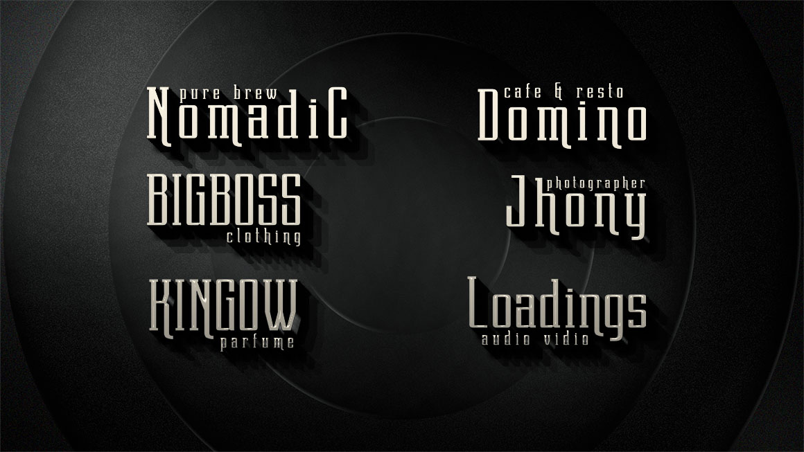 Dentra Typeface example image 14