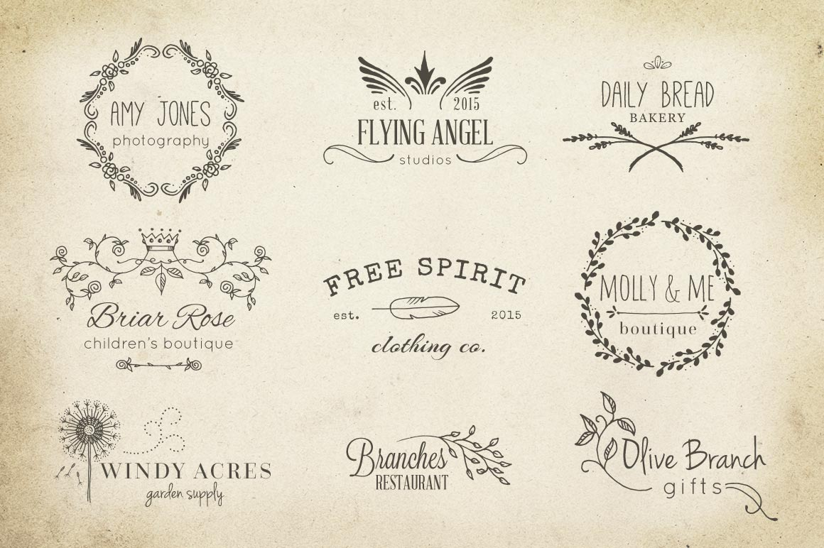Hand Drawn Vector Design Elements example image 5