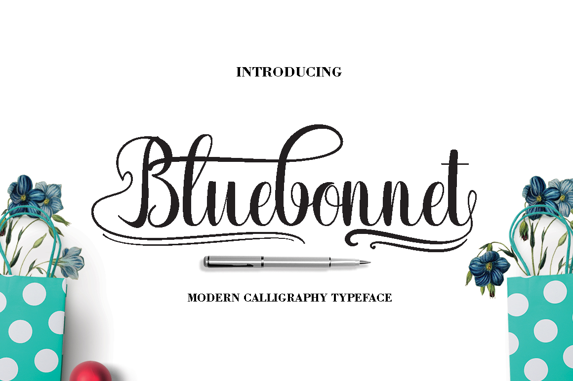 FONT BUNDLES COLECTION 2018 example image 4