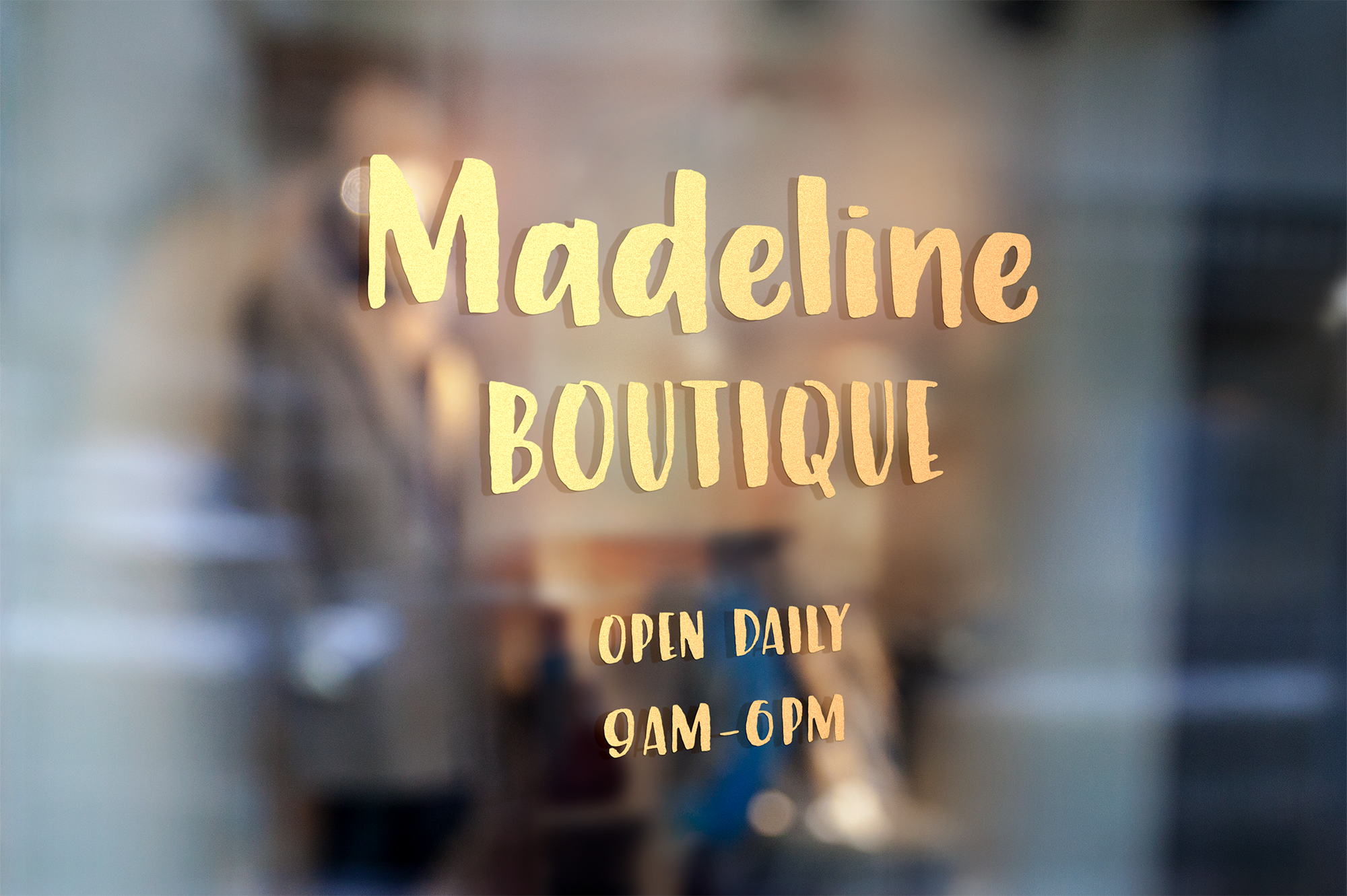 Marmalade, a hand painted font example image 8