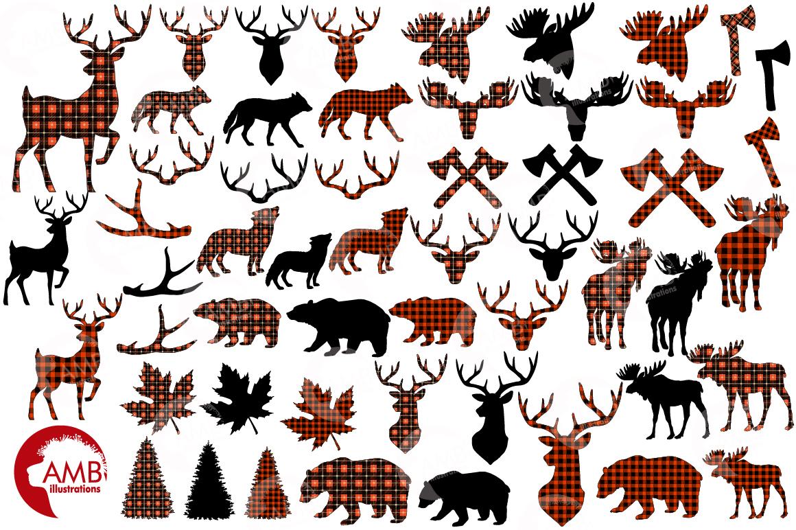 Lumberjack clipart, graphic, illustration, AMB-2315 example image 5