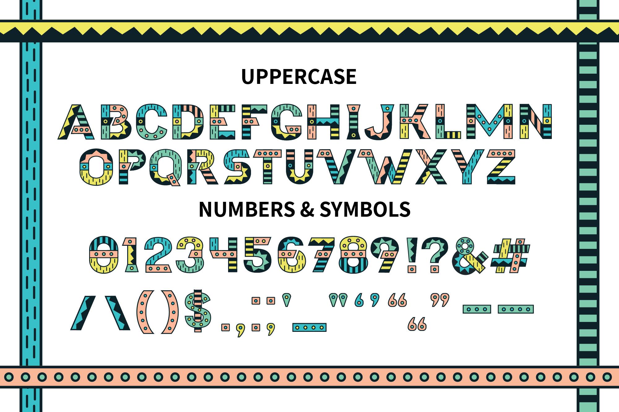 Loki Display Color Font example image 2
