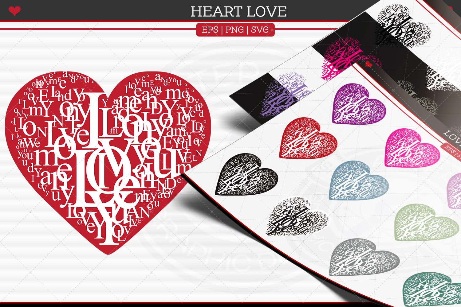 Love Hearts example image 1