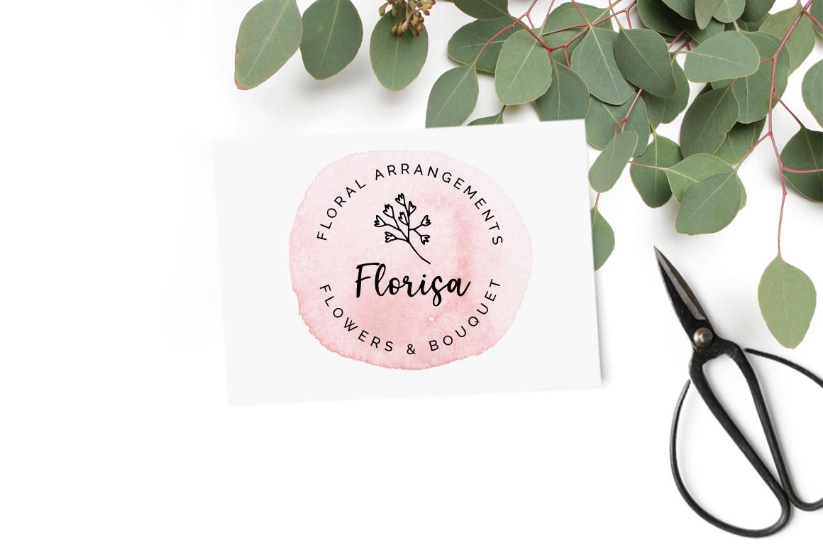 Elderflower script + logos example image 8