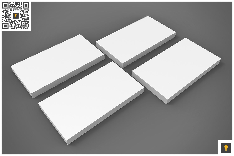 Business Card 3D Render by SHOCKY DESIGN | Design Bundles